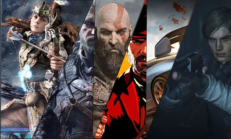 برترین بازیهای نسل هشتم