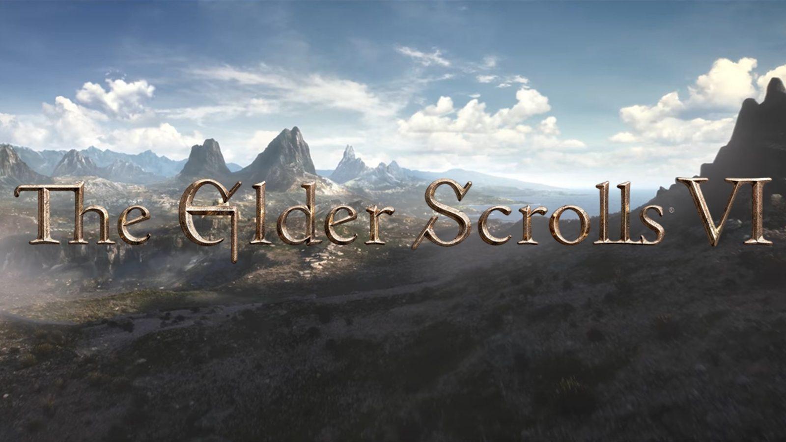 ویدیویی از گیمپلی بازی Elder Scrolls 6 فاش شد