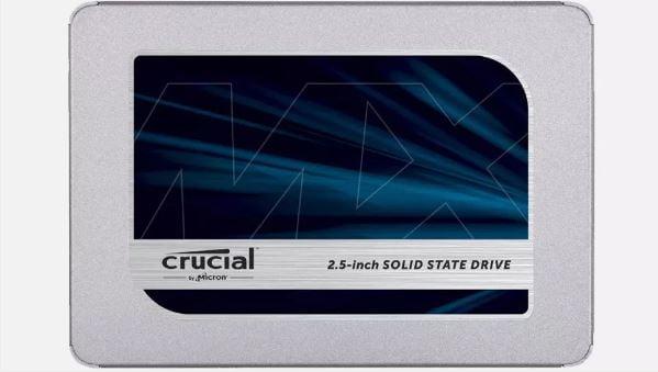 درایوهای SSD برند Crucial