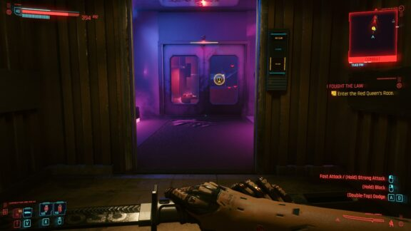 گیم پلی بازی Cyberpunk 2077