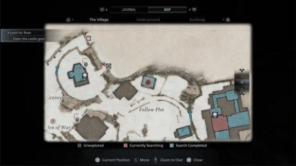 نقشه بازی Resident Evil 8