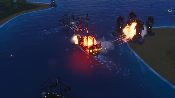 گیم پلی بازی King of Seas