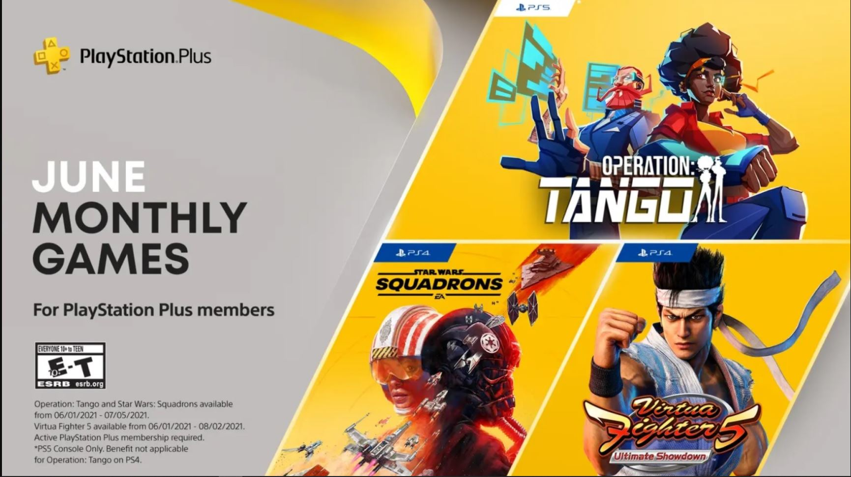 فهرست بازیهای رایگان ماه ژوئن پلی استیشن اعلام شدد