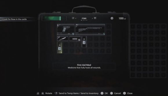 سلاح های بازی Resident Evil 8