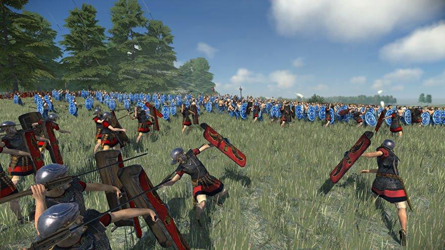 گیم پلی بازی Total War: Rome Remastered