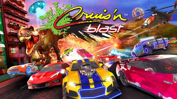 بازی Cruis'n Blast برای نینتندو سوییچ