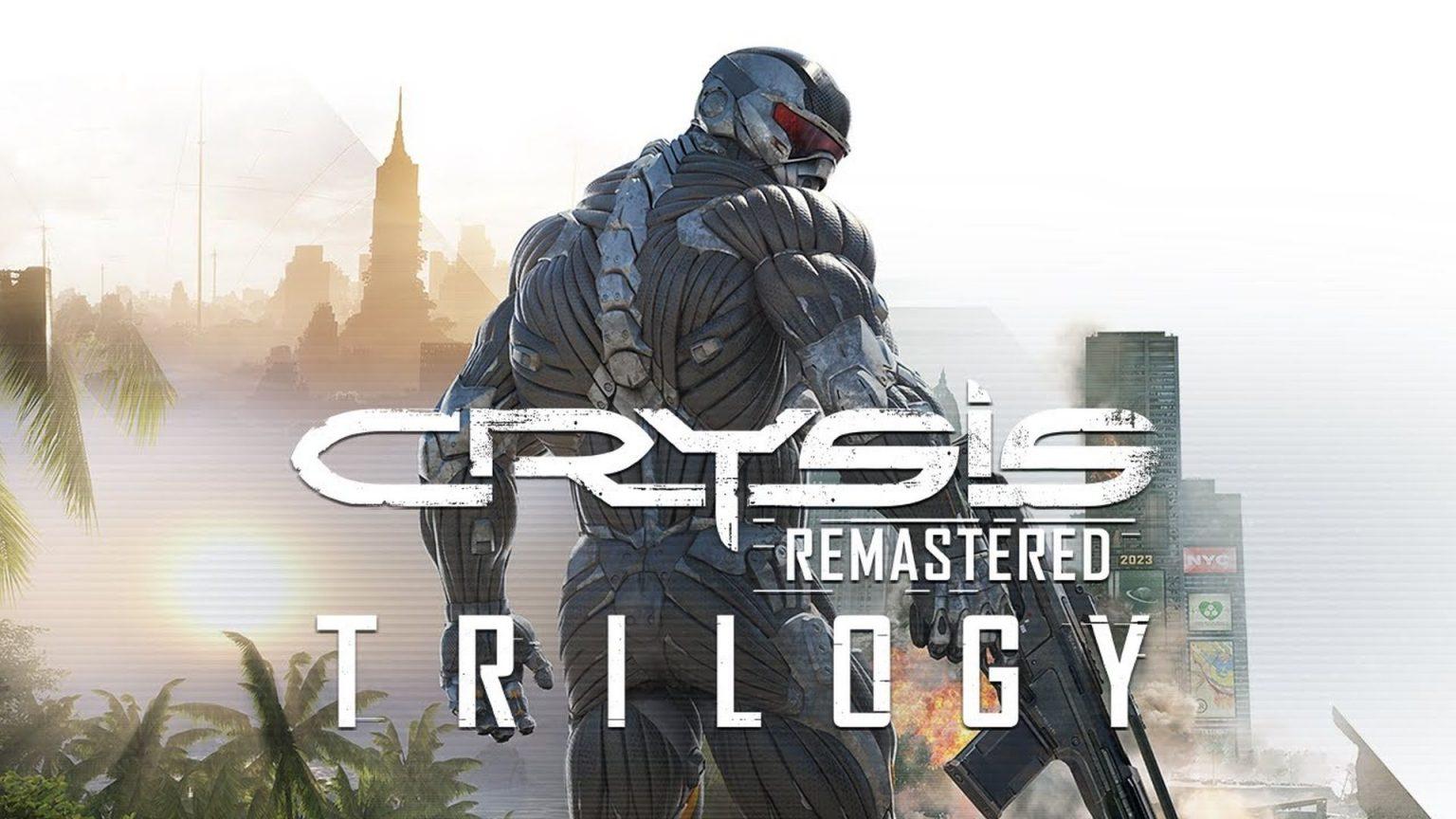 از بازی Crysis Remastered Trilogy رونمایی شد