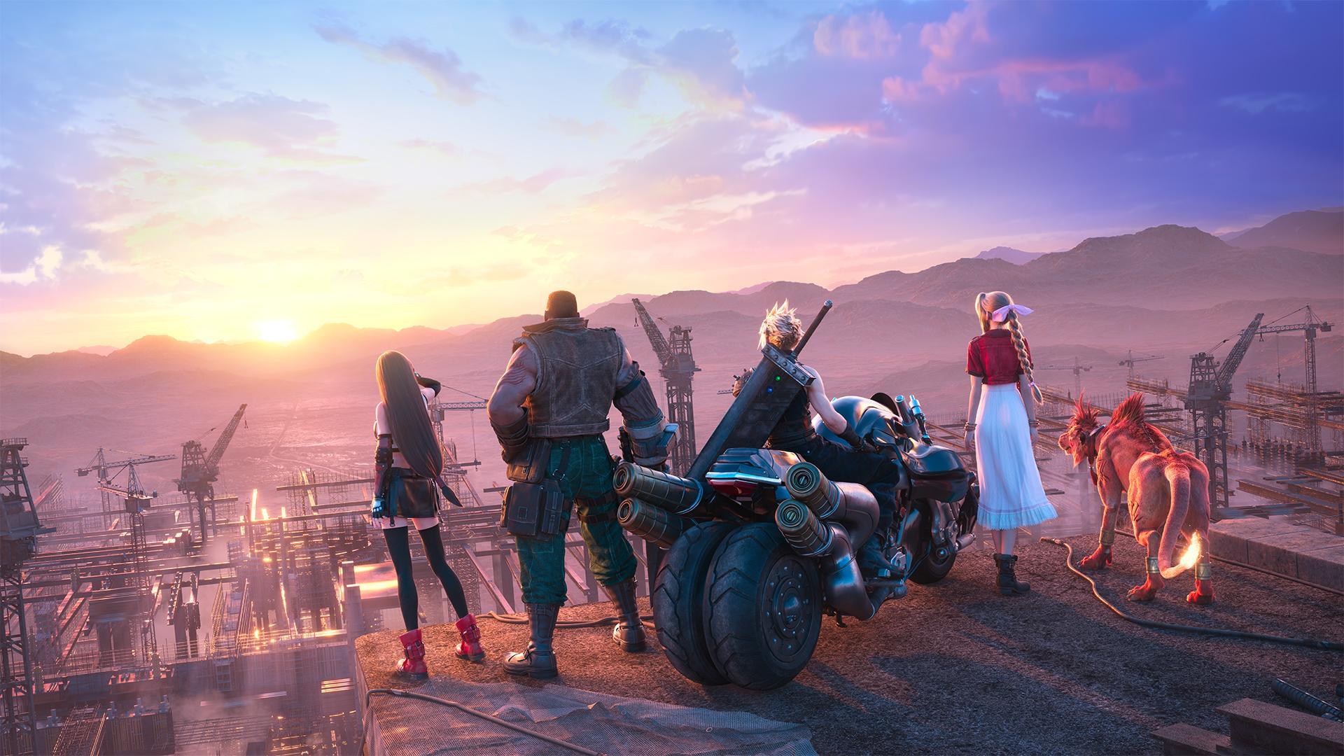 حجم بازی Final Fantasy 7 Remake Intergrade