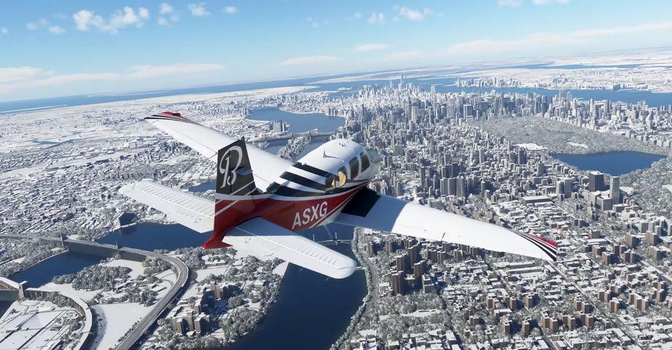 به روزرسانی جدیدی برای عنوان Microsoft Flight Simulator منتشر خواهد شد
