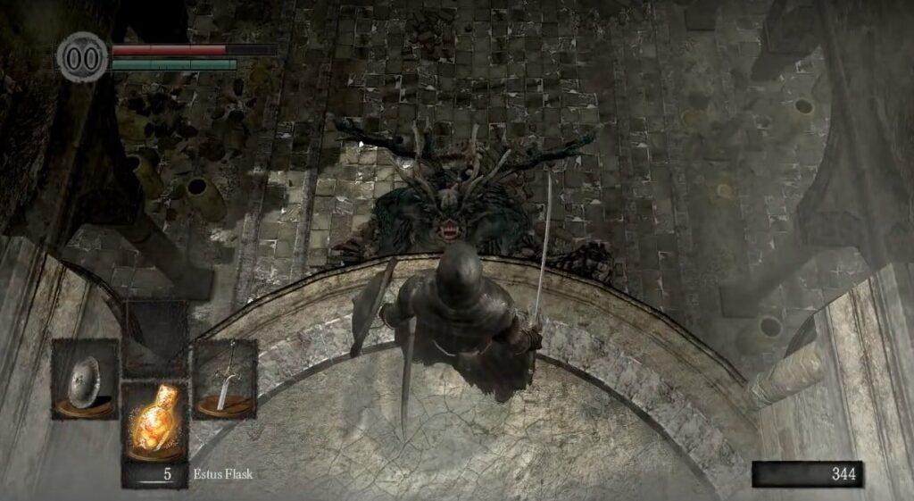 'گیم پلی بازی Dark Souls