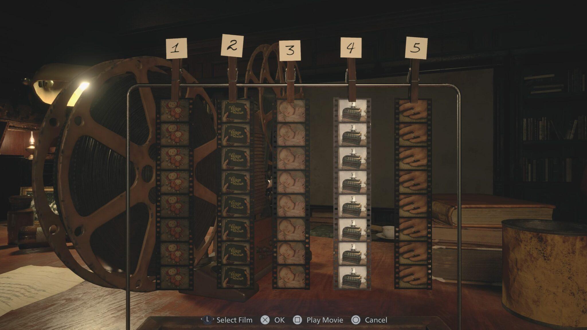آموزش پازل های بازی Resident Evil 8