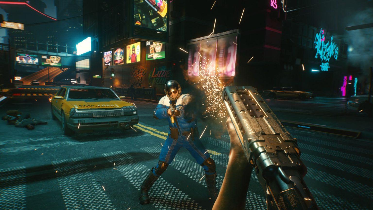 بازی جهان باز - Cyberpunk 2077