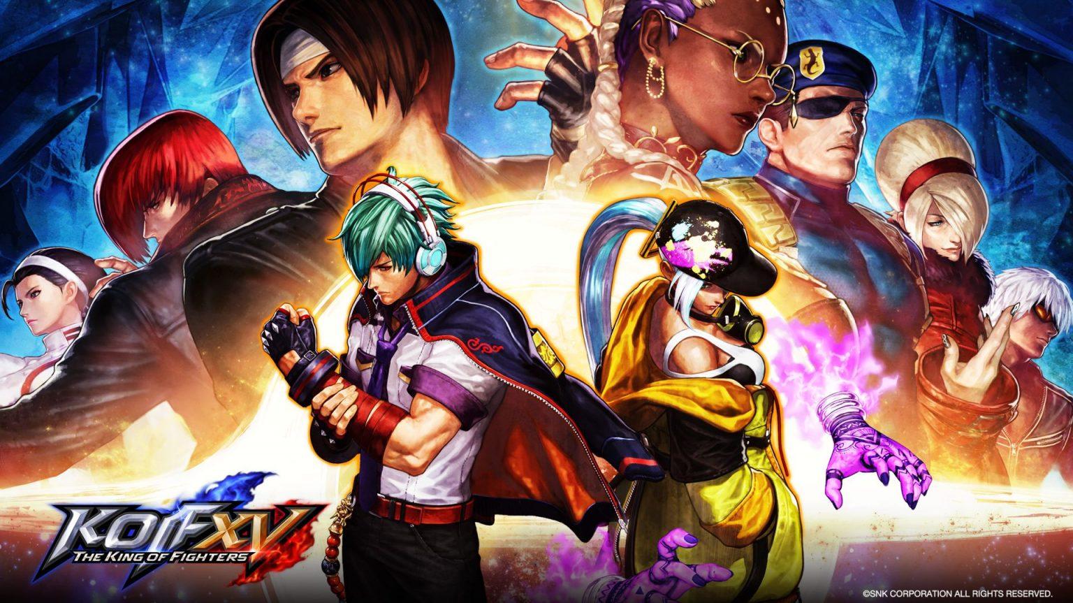 بازی اکشن مبارزهای - The King of Fighters 15