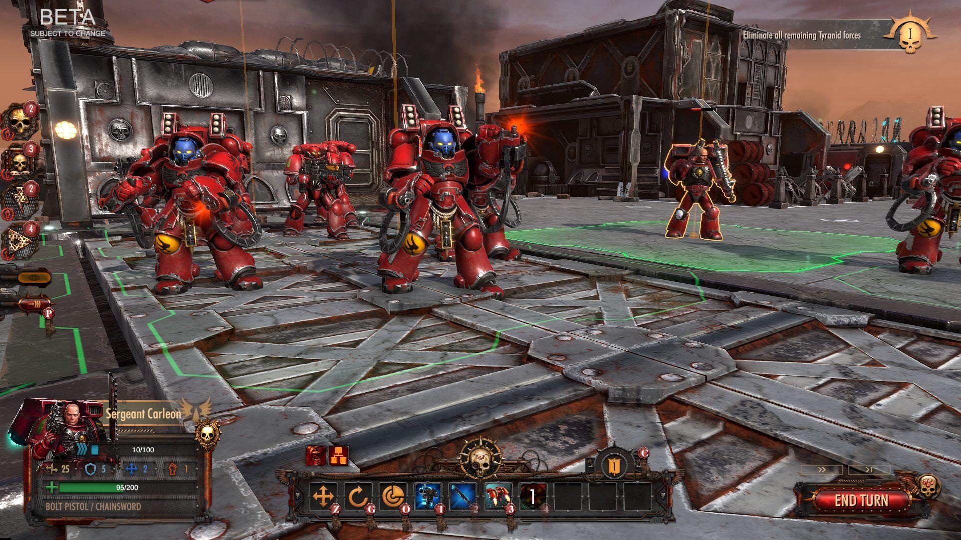 گیم پلی بازی Warhammer 40000