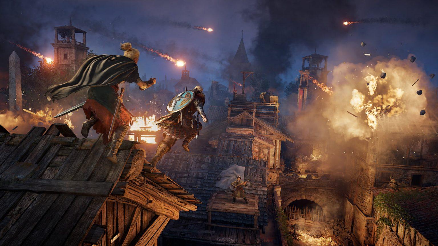 ویدیویی از گیمپلی Assassin's Creed Valhalla: The Siege of Paris منتشر شد