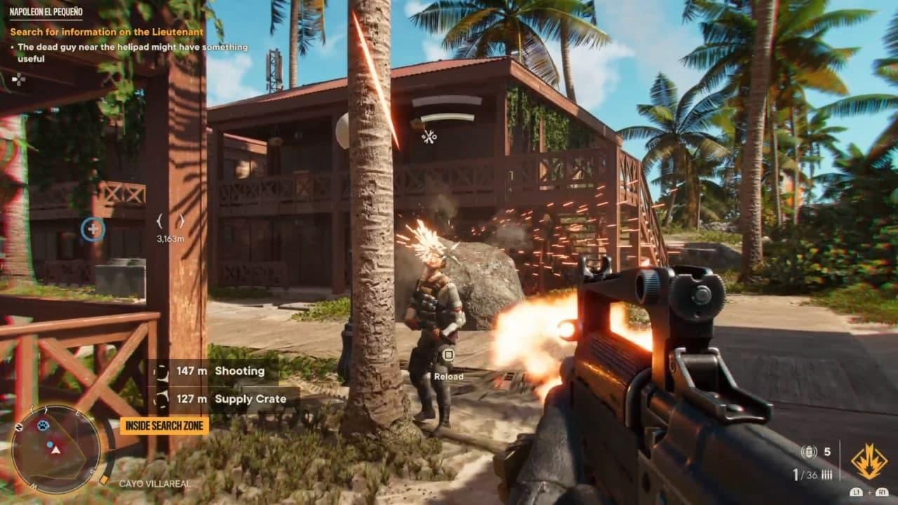 گیم پلی بازی Far Cry 6