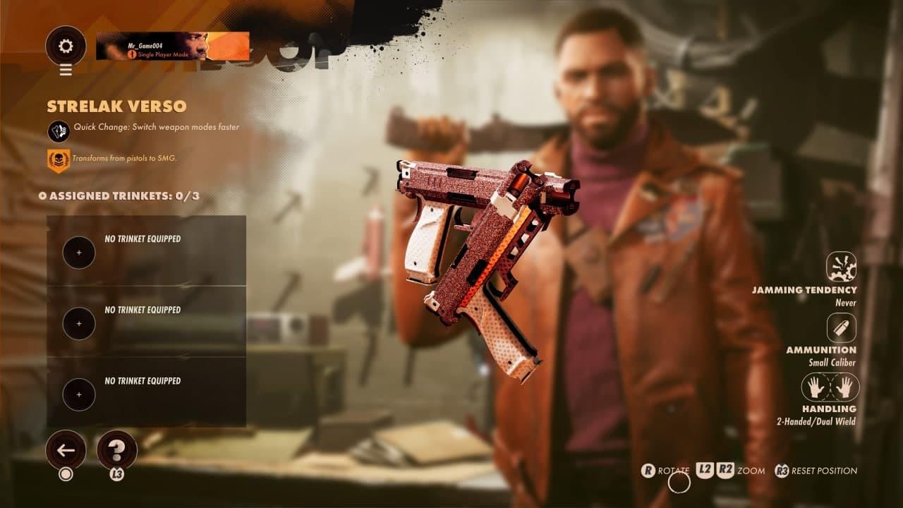 راهنمای انتخاب سلاح در بازی Deathloop